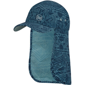Buff Bimini Casquette Enfant, kasai night blue